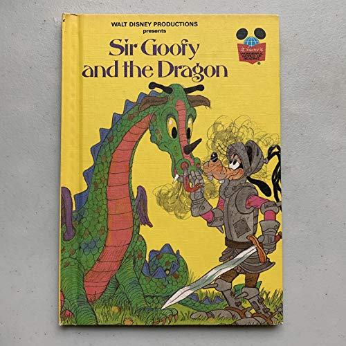 Sir Goofy and the Dragon (Grolier Books) By Walt Disney