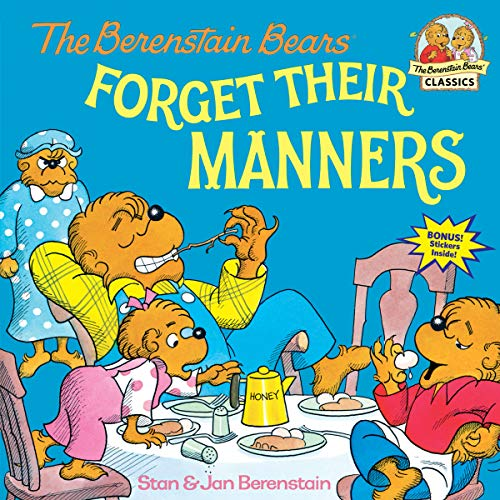 Berenstain Bears Forget Their Man (Berenstain Bears First Time Books) By Stan Berenstain