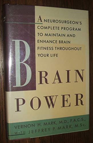 Brain Power By Vernon H. Mark