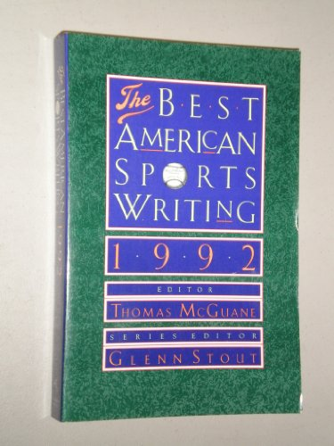 Best American Sports Writing By Volume editor Thomas McGuane