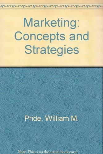 Marketing By William M. Pride