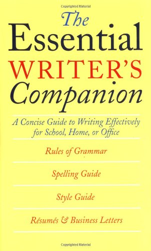 The Essential Writer's Companion By Sandra Whiteley