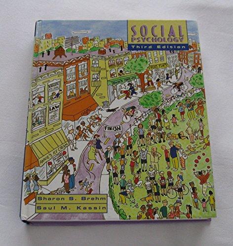 Social Psychology By Sharon S. Brehm
