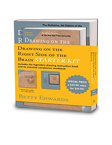The Drawing on the Right Side of the Brain Starter Kit By Betty Edwards