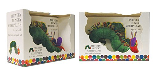 The Very Hungry Caterpillar Board Book and Plush von Eric Carle