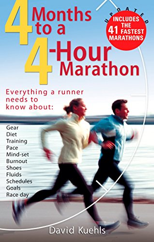 4 Months to a 4 Hour Marathon By Dave Kuehls