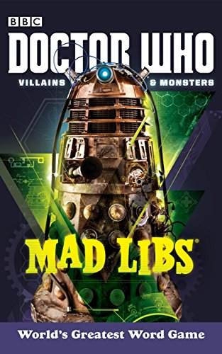 Doctor Who Villains and Monsters Mad Libs By Price Stern Sloan