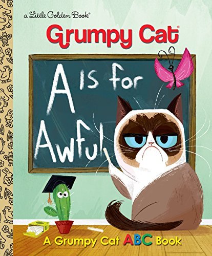 LGB Grumpy Cat A Is for Awful By Christy Webster