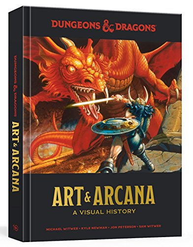 Dungeons and Dragons Art and Arcana: A Visual History By Kyle Newman