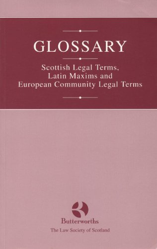 Glossary By Butterworths