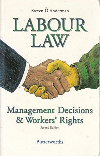Labour Law By S.D. Anderman