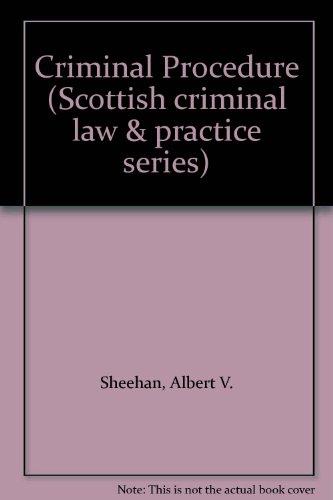 Criminal Procedure By Albert V. Sheehan