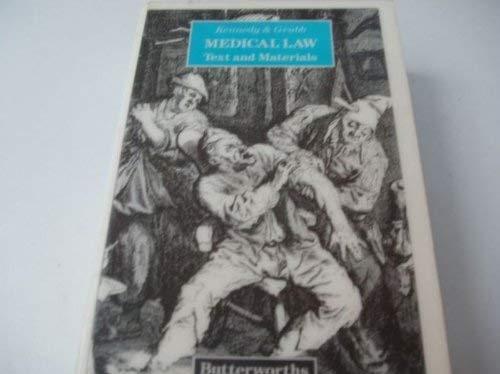 Medical Law By Ian Kennedy