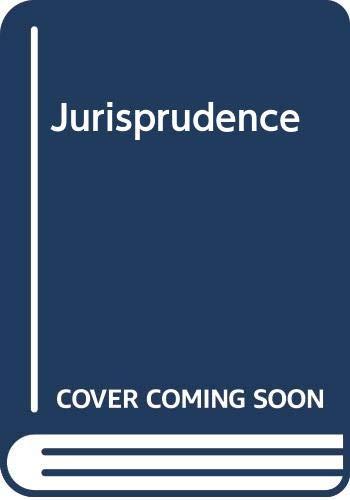 Jurisprudence By R.W.M. Dias