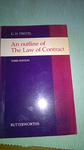 Outline of the Law of Contract By G.H. Treitel