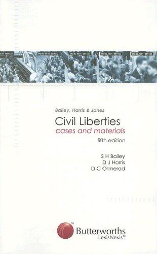 Bailey, Harris and Jones - Civil Liberties By S. H. Bailey