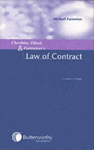 Cheshire, Fifoot and Furmston's Law of Contract by Michael Furmston