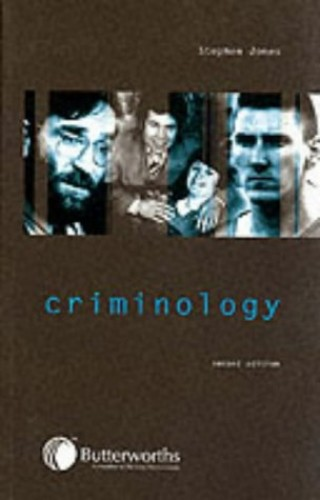 Criminology By Stephen Jones