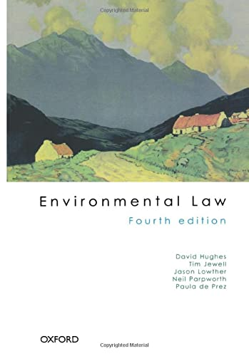 Environmental Law By Tim Jewell