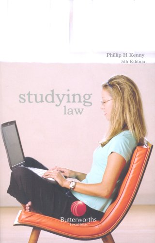 Studying Law By Phillip H. Kenny