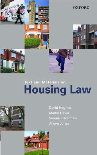 Text and Materials on Housing Law By Martin Davis