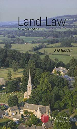 Land Law By J.G. Riddall