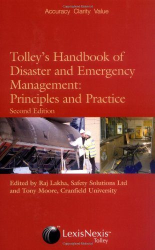 Tolley's Handbook of Disaster and Emergency Management By Raj Lakha