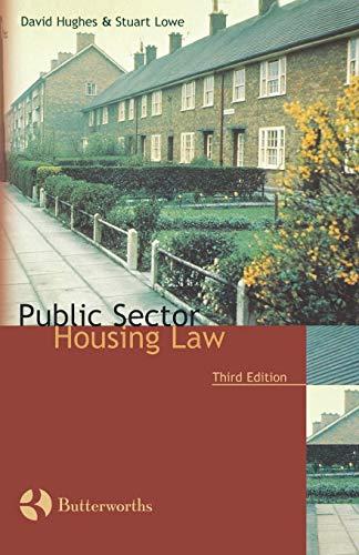 Public Sector Housing Law By David Hughes