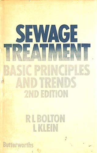 Sewage Treatment By R.L. Bolton