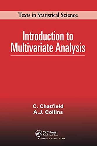 Introduction to Multivariate Analysis By Chris Chatfield