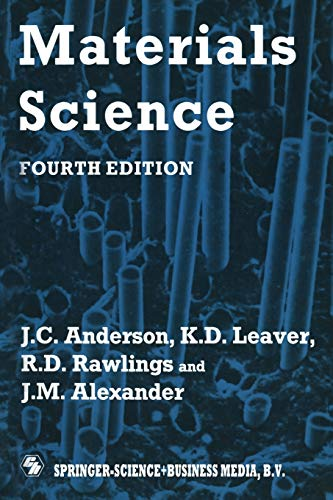 Materials Science By Richard D. Alexander