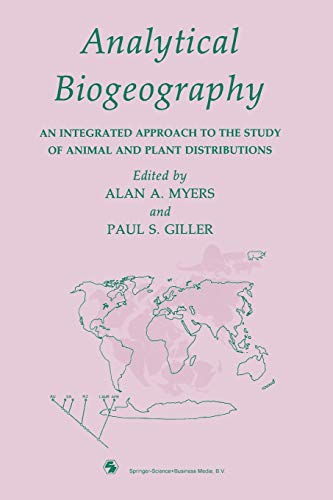 Analytical Biogeography By A. A. Myers