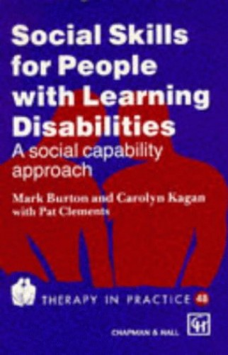 Social Skills for People with Learning Disabilities By Carolyn Kagan