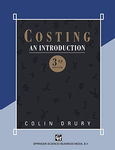 Costing By Colin Drury