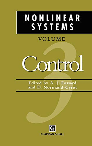 Nonlinear Systems By Edited by A. J. Fossard