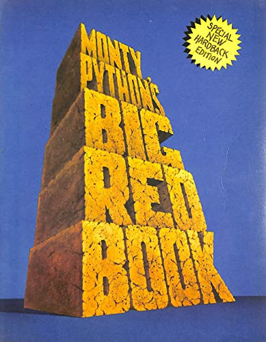 Monty Python's Big Red Book (A Methuen paperback) By Monty Python
