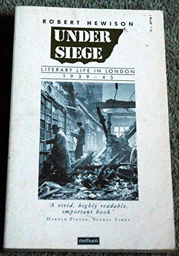 Under Siege By Robert Hewison