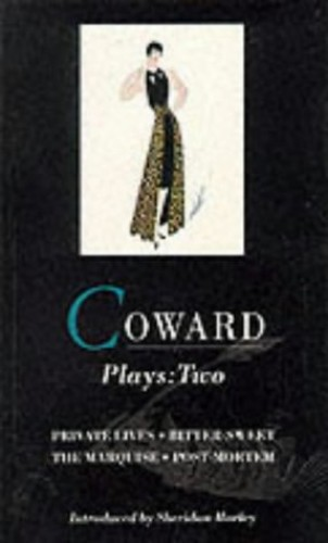 Coward Plays By Noel Coward