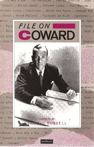 File on Coward By Edited by Jacqui Russell