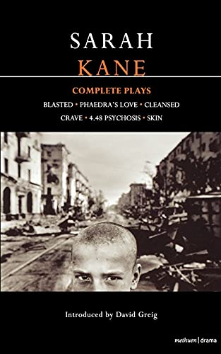 Kane: Complete Plays By Sarah Kane