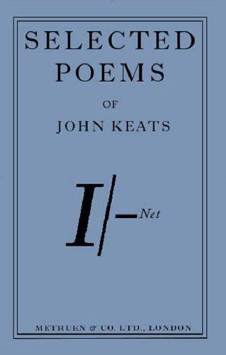Twenty Poems from John Keats By Keats John