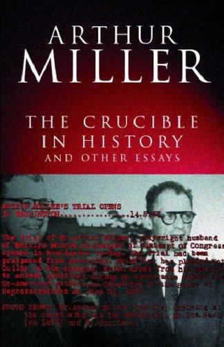the crucible author arthur miller essay
