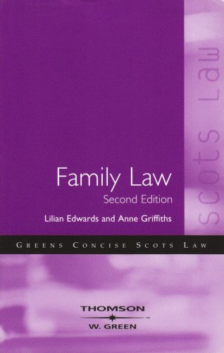 Family Law By Anne Griffiths