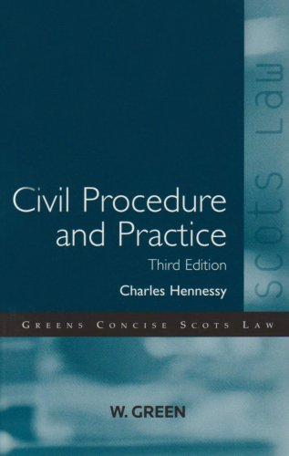Civil Procedure and Practice By Charles Hennessy