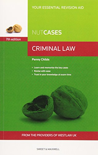 Nutcases Criminal Law By Penny Childs