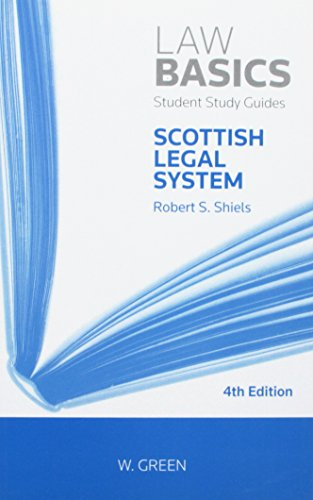 Scottish Legal System LawBasics By Robert Shiels