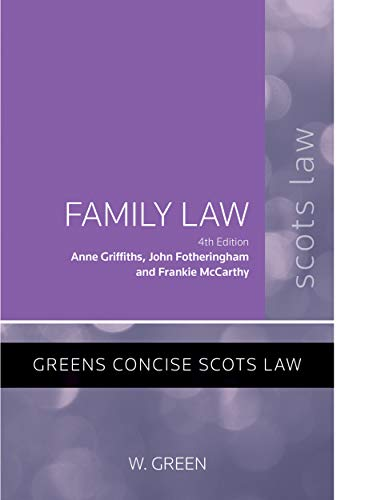 Family Law (Greens Student Text) By Anne Griffiths