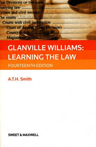 Glanville Williams: Learning the Law By Glanville L. Williams