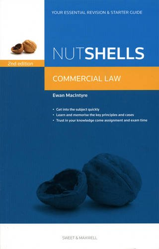Nutshell Commercial Law By Ewan MacIntyre