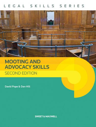 Mooting and Advocacy Skills (2) By David Pope